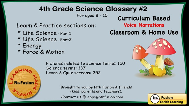 4th 5th And 6th Grade Science Glossary Bundle Apps On The App Store