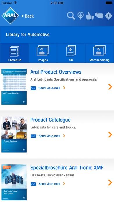 Aral Partner AppScreenshot von 5
