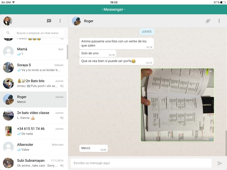 Messenger for WhatsApp - iPad Version - Free Version App screenshot-1