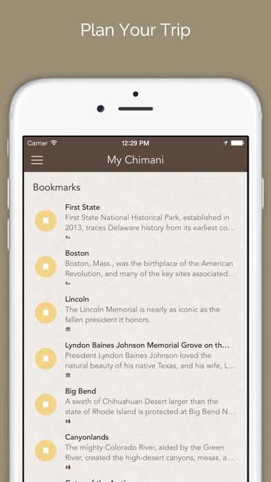 Chimani - National Park Guides