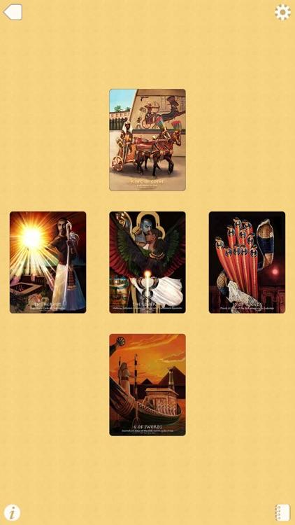 The Journey into Egypt Tarot screenshot-4