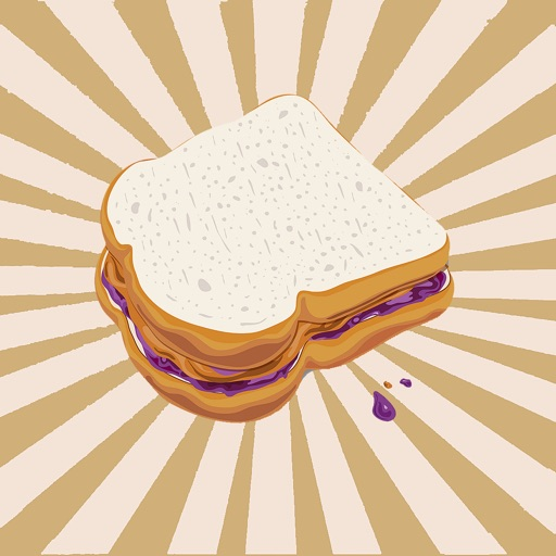 peanut butter & jelly Sandwich icon