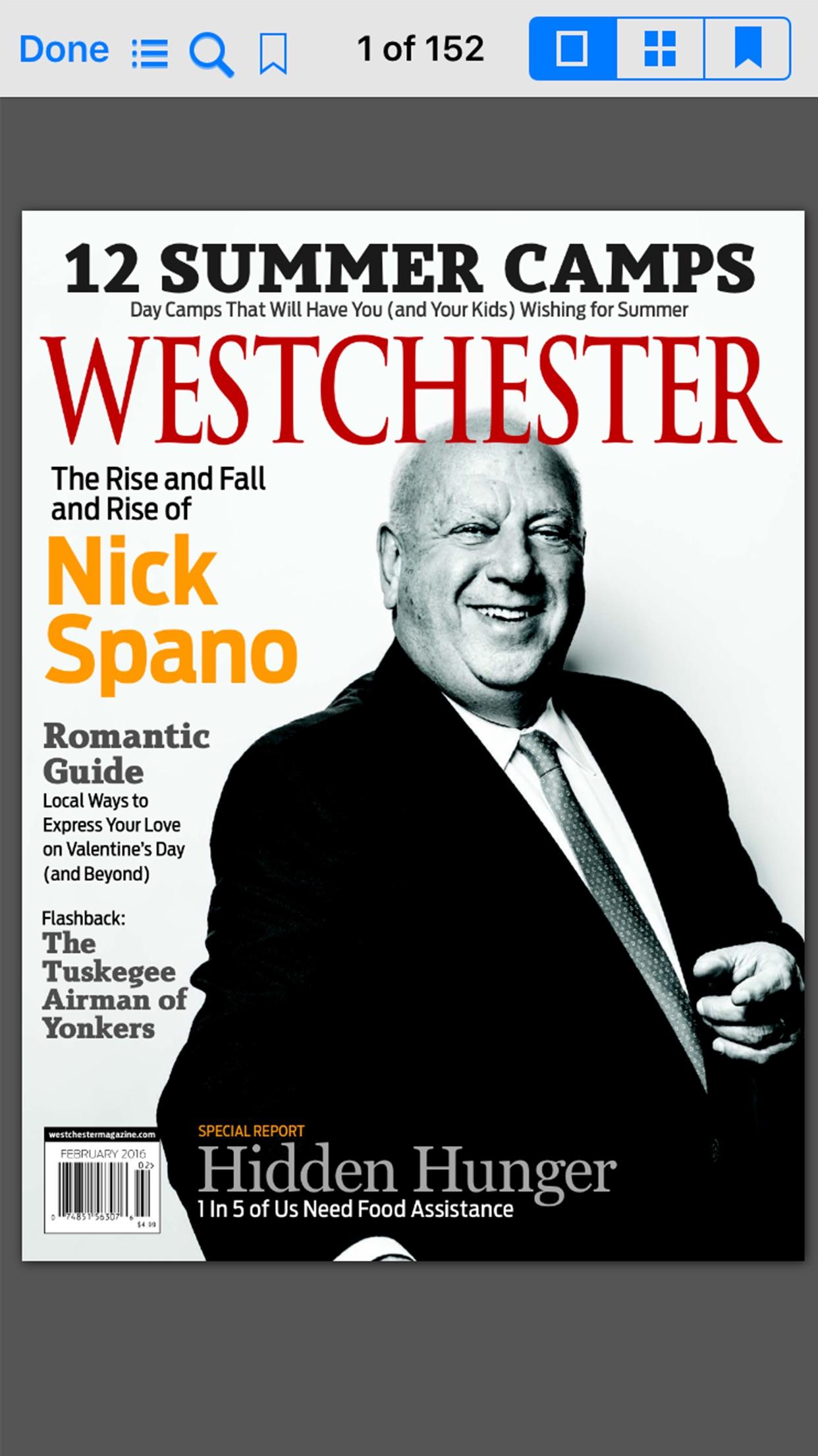Westchester Magazine Screenshot
