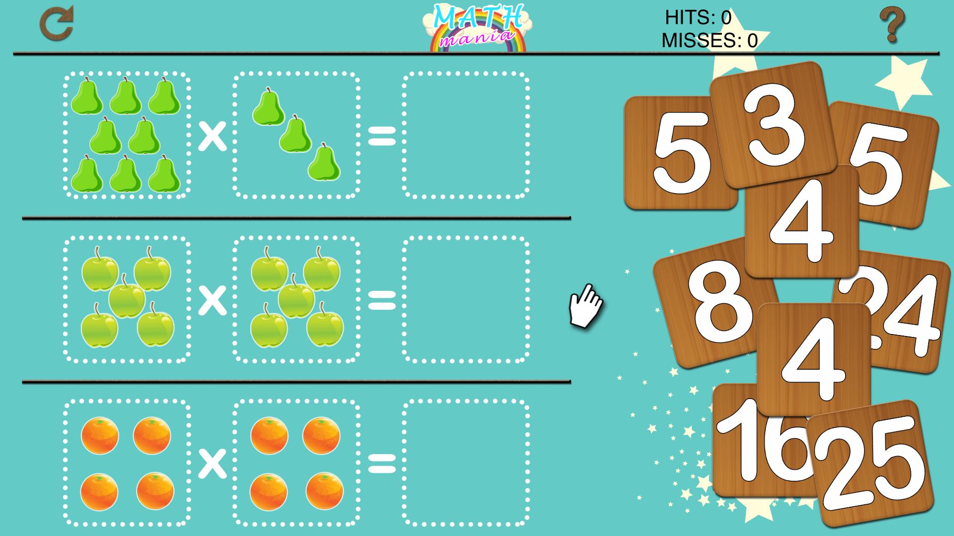 Math Tables Mania - Multiplications and Divisions screenshot 2