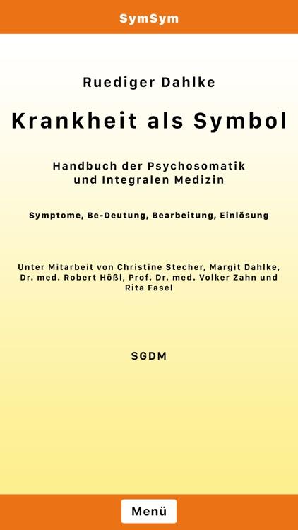 SymSym DE - Krankheit als Symbol - Ruediger Dahlke