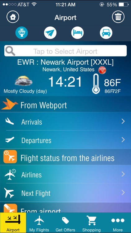 Newark Airport (EWR) Flight Tracker screenshot-1