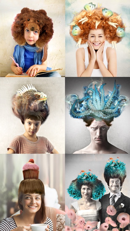 Surreal wigs – Creative hairstyles to edit your photos screenshot-0