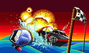 Pixel Boat Rush TV