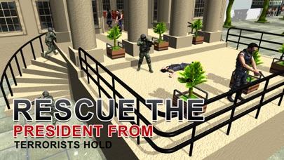 陸軍シューター社長の救助 - 極端な射撃シミュレーターのゲームのスクリーンショット3