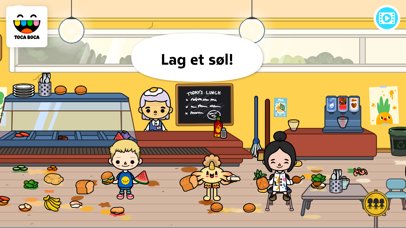 Screenshot for Toca Life: School in Norway App Store