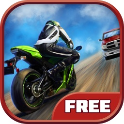 Moto Racing: Traffic City FREE