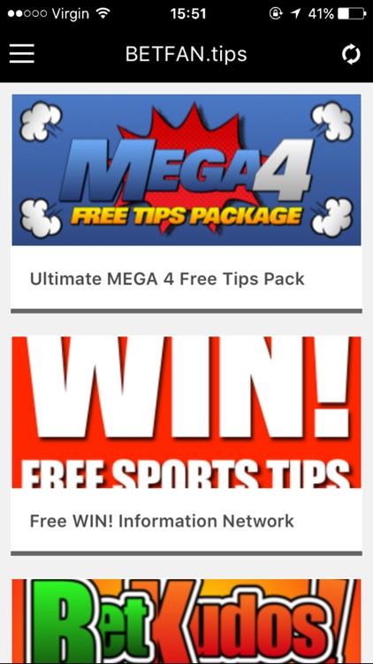 Betfan Free Sport Betting Tips screenshot-3