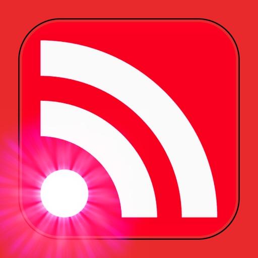 RSS News Reader-Free iOS App
