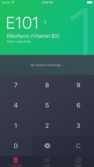 Screenshot for Food Additives Checker in Czech Republic App Store