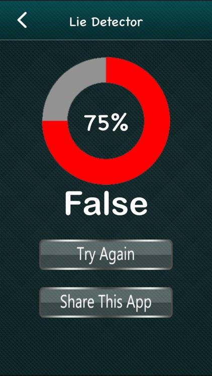 Lie Detector. screenshot-3
