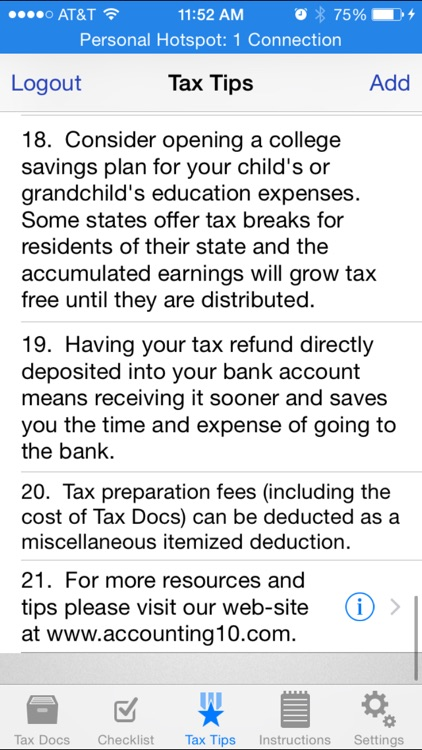 Tax Docs screenshot-4