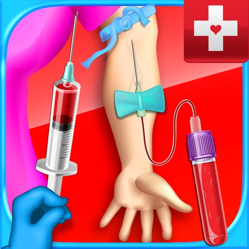 Mega Blood Draw Simulator - Injection & Phlebotomy Games FREE