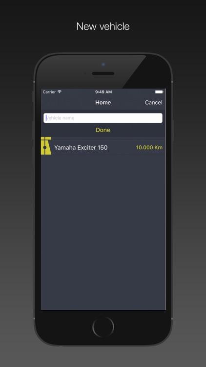 Oil Change Log screenshot-4