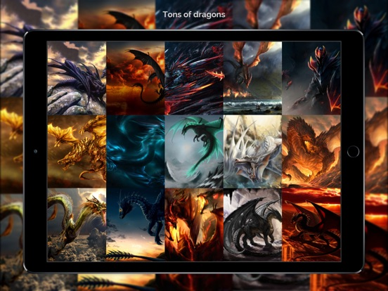 Dragon Wallpapers & Backgrounds + Amazing Fire Wallpaper Free HD-ipad-0