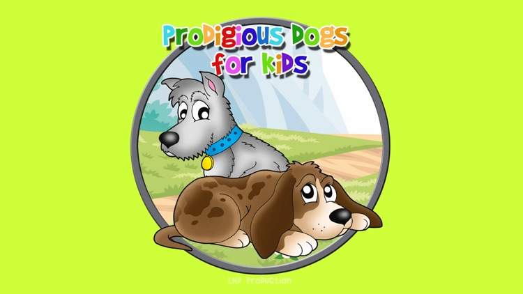 prodigious dogs for kids - free screenshot-0