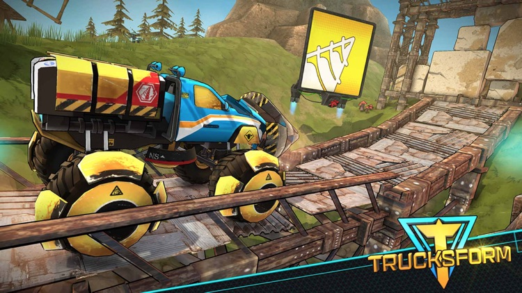 Trucksform - Offroad 3D Bigfoot Endless Racing screenshot-3