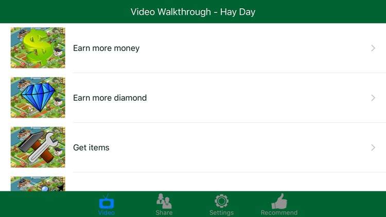 Video Walkthrough for Hay Day
