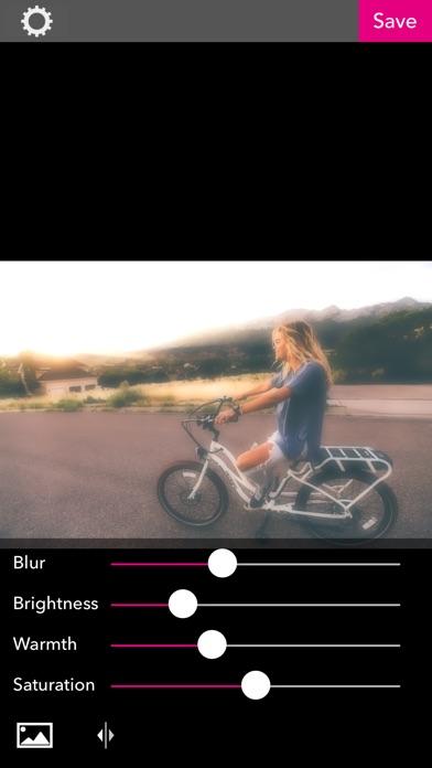 ぼかしてふわふわ加工できるアプリ - BBEditor紹介画像5