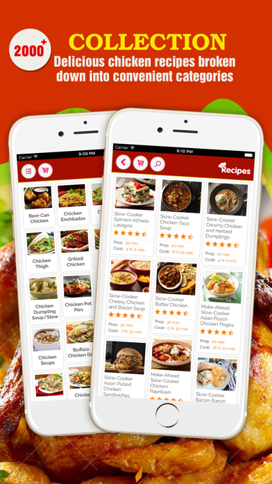 Healthy Chicken Recipes ~ The Best Delicious Chicken Recipes Collection screenshot one