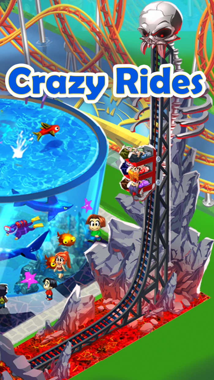 Happy Park™ - Best Theme Park Game for Facebook and Twitter Screenshot