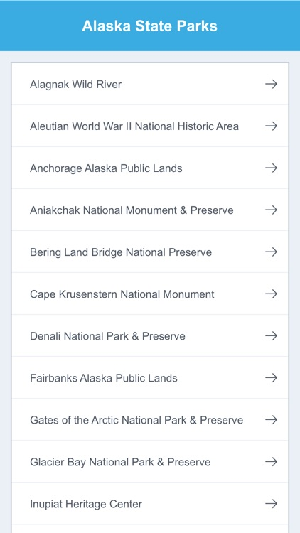 Alaska State Parks & National Parks screenshot-1