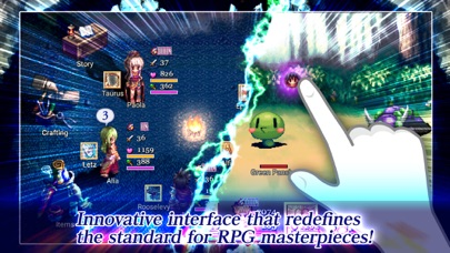 Screenshot from RPG Justice Chronicles
