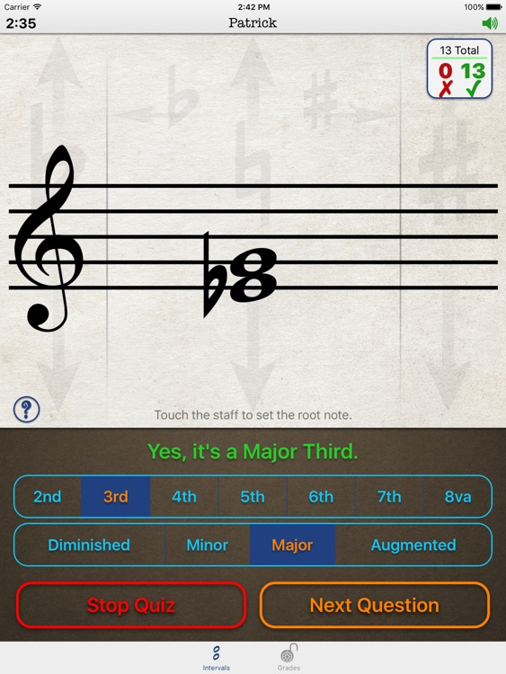 Music Theory Intervals