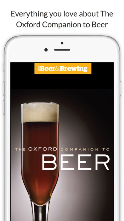 The Oxford Companion to Beer screenshot-0