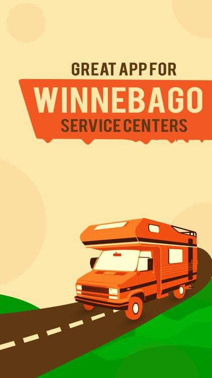 Great App for Winnebago Service Centers