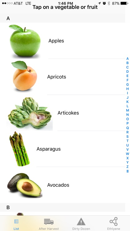Healthy Vegetables screenshot-0