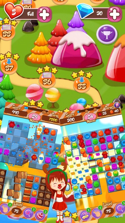 Jelly Crush Story screenshot-4