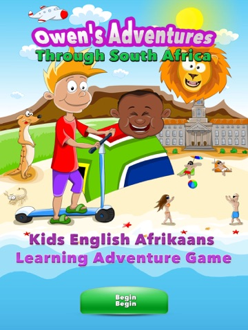 English Afrikaans Language Learning Adventure - Owen's Adventures-ipad-0