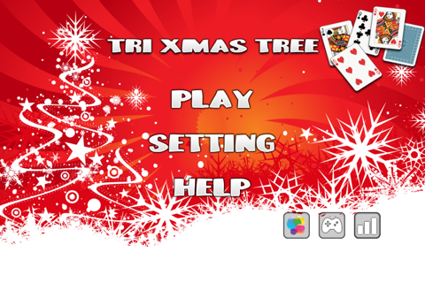 Tri Xmas Tree Solitaire screenshot 1