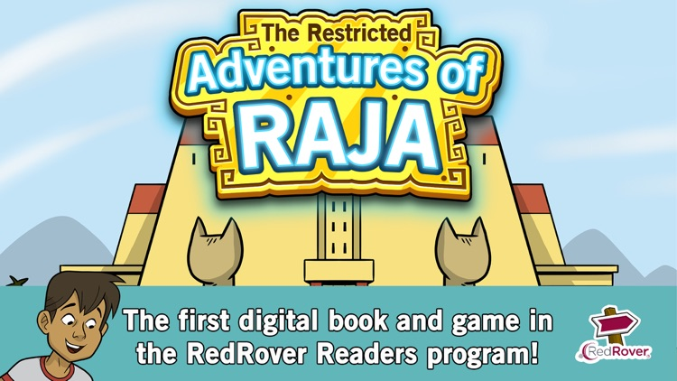 E-Books for Empathy: The Restricted Adventures of Raja screenshot-0