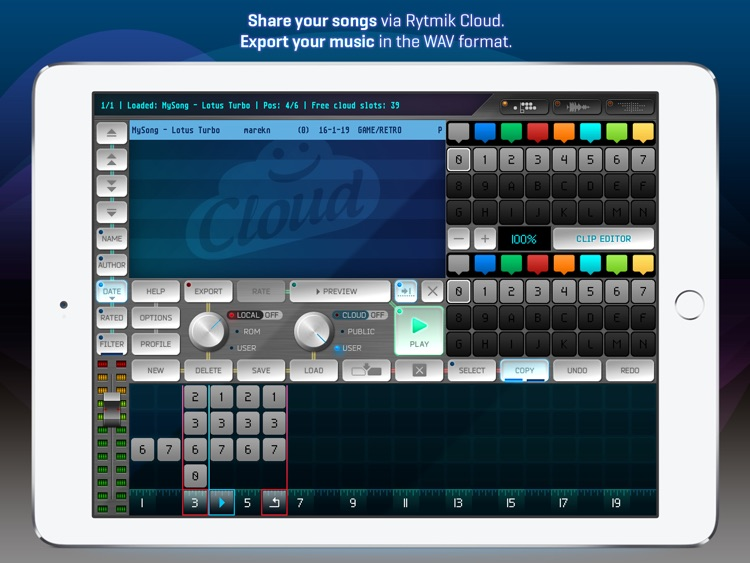 Rytmik Lite Chiptune Synthesizer screenshot-3
