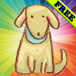 Coloring Book for Toddlers: Dogs ! Color your favorite Puppy coloring pages - FREE app