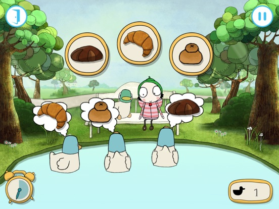 Sarah & Duck - Day at the Park | App Price Drops