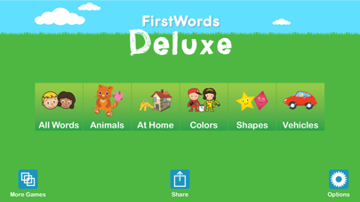 First Words Deluxe review screenshots