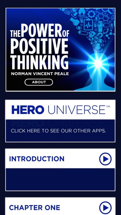 The Power of Positive Thinking by Dr. Norman Vincent Peale, A Hero Notes Audiobook Program