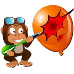 Monkey Balloon Game