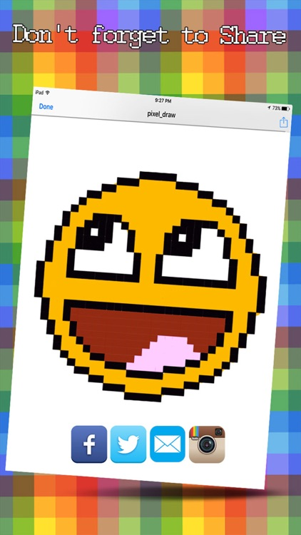 Pixelart Editor - Make Coloring Picture With Pixel Art screenshot-4