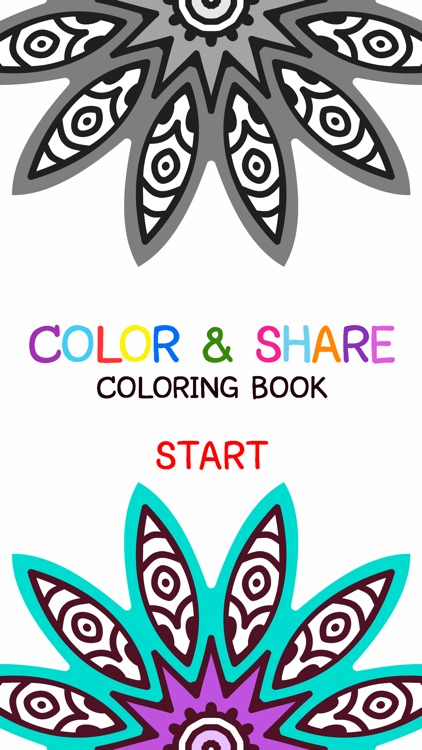 Mandala Coloring Book - Adult Colors Therapy Free Stress Relieving Pages Free