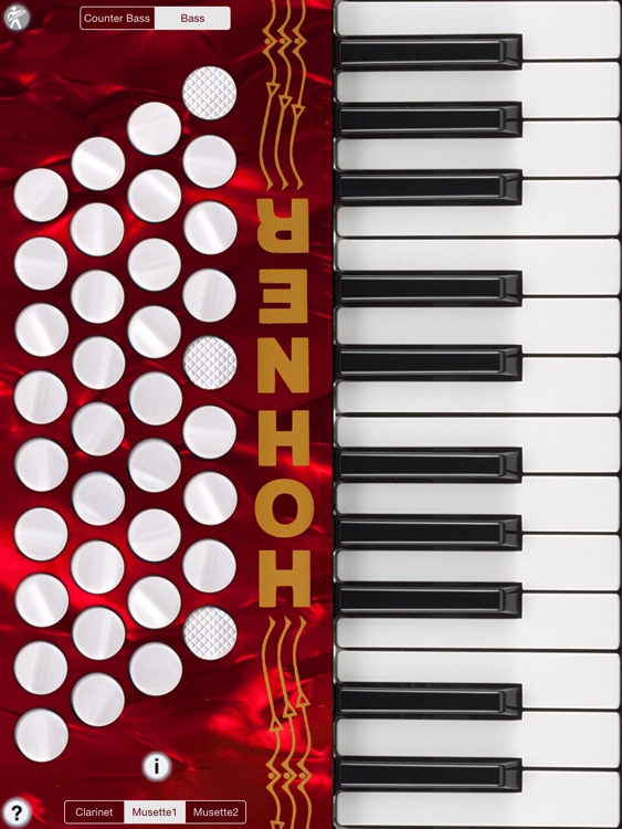 Hohner Piano SqueezeBox Accordion Pro screenshot-0