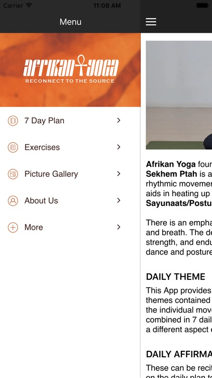 Afrikan yoga by Pablo Imani screenshot-3