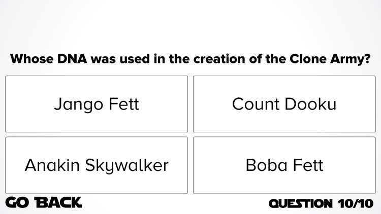 Ultimate Trivia: Star Wars Edition screenshot-4